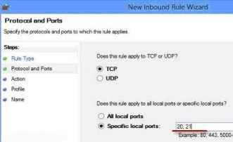 Enabling FTP