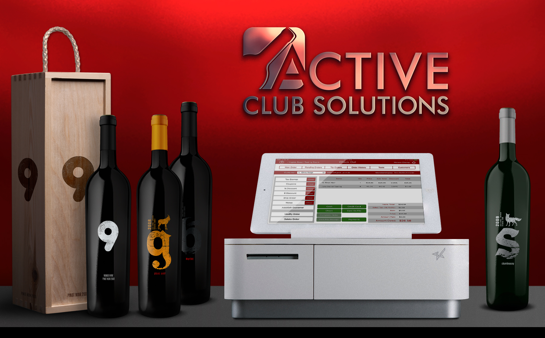 Active Club Winery POS